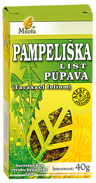 Pampeliška list 40g